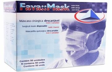 Máscara c/ Tiras Fava