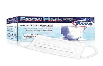 Máscara c/ elástico Fava