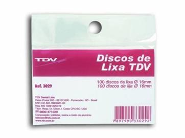 Disco de Lixa c/100 – TDV