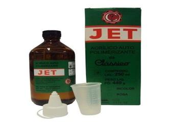 Resina Acrílica autopolimerizável Jet 250ml