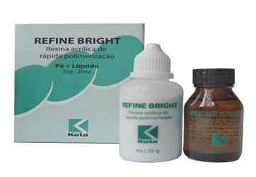 Kit Resina Acrílica Refine