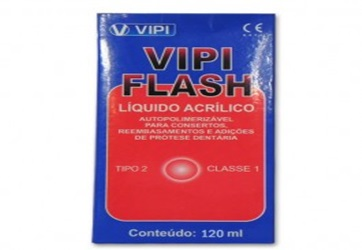 Resina Acrílica Vipi Flash 120ml