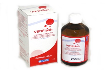 Resina Acrílica Vipi Flash 250ml
